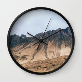 Vintage Mountain 25 Wall Clock