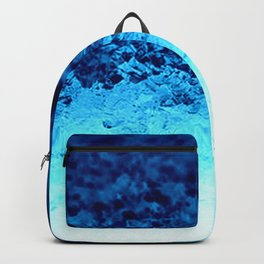 Blue Crystal Ombre Backpack