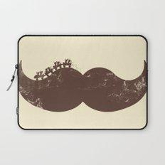 Mustache Ride Laptop Sleeve