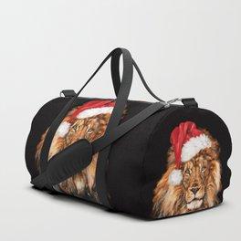 Christmas King Lion Duffle Bag