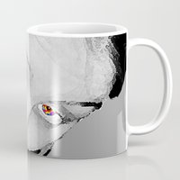 no face Mugs featuring Face by Crayle Vanest
