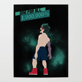 One For All 1,000,000% Poster