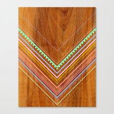 Aztec Arbutus Canvas Print