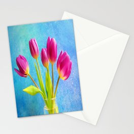 Five Pink Ladys Stationery Cards