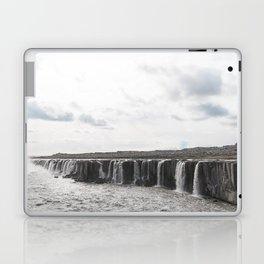 Selfoss waterfall in Iceland - nature landscape Laptop & iPad Skin