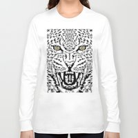 leopard Long Sleeve T-shirts featuring Leopard by BUBUBABA