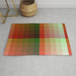 Color harmony ...red , green Rug