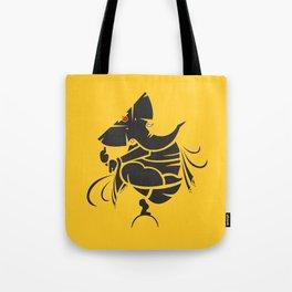 Lord Ganesha Mool Mantra Tote Bag