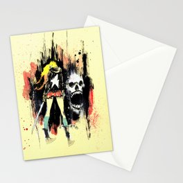 Grrl Scouts: Magic Socks 1 Stationery Cards