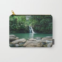 Waterfall Hawaii Carry-All Pouch