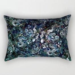 Night Garden Skulls Rectangular Pillow