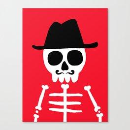 El Skeletor Canvas Print