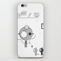 doctor iPhone & iPod Skins featuring Doctor by iodine