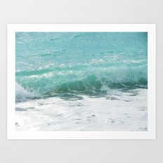 Curled Wave Art Print