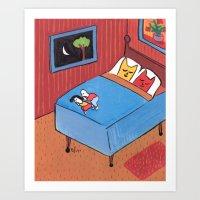 Night Time Art Print