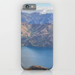 Roys Peak Lookout 1 iPhone Case