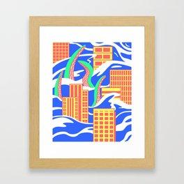 Flooded Framed Art Print