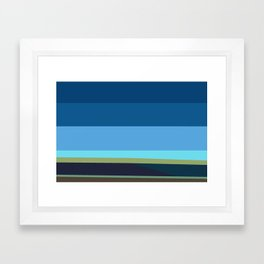 Santa Monica Horizon 0203 Framed Art Print