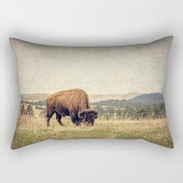 Bison Land Rectangular Pillow