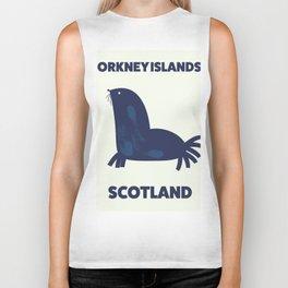 Orkney Islands, Scotland Biker Tank