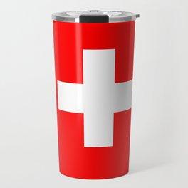 flag of Switzerland Travel Mug