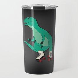 Tyrollersaurus Rex Travel Mug