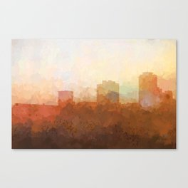New Orleans, Louisiana Skyline - In the Clouds Canvas Print