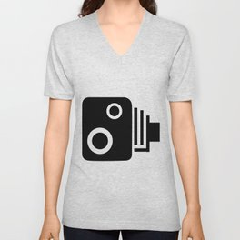 Isolated Speed Camera Unisex V-Neck