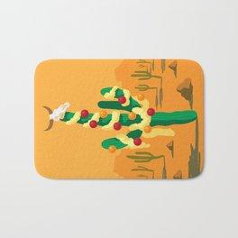 Merry Cactus Bath Mat