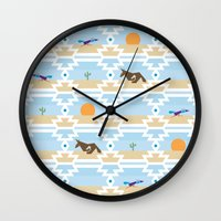 run Wall Clocks featuring Run! by Dustinhy
