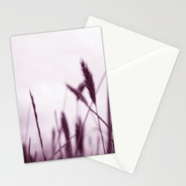 PURPLE GRASS Stationery Cards