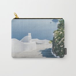 Santorini Stairs II (Landscape) Carry-All Pouch