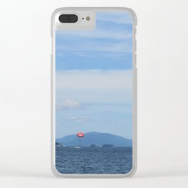 Liftoff! Clear iPhone Case
