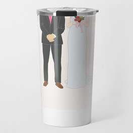 This $75 Custom Portrait Is the Most Thoughtful Wedding Gift Ever Travel Mug