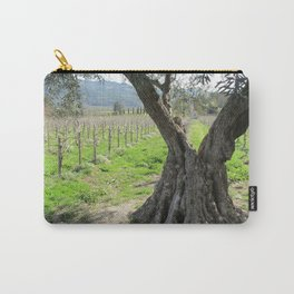 Olive tree in vineyard Carry-All Pouch