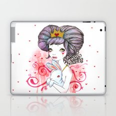 Princess with bunny Laptop & iPad Skin