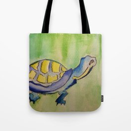 Curious Turtle Tote Bag