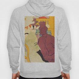 """Henri de Toulouse-Lautrec """"Flirt"""" Hoody"""
