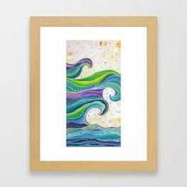 Tribal Wave I Framed Art Print