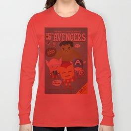 avengers fan art Long Sleeve T-shirt