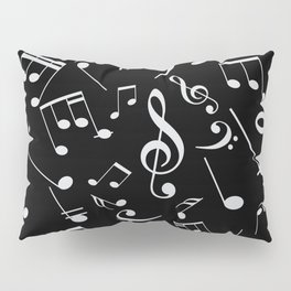 Musical Notes 20 Pillow Sham