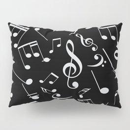 Musical Notes 20 Pillow Sham