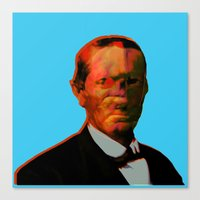 chuck Canvas Prints featuring - chuck - by Digital Fresto