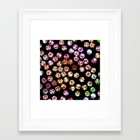 polka dots Framed Art Prints featuring Polka Dots by Take Five