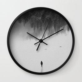Silent Walk Wall Clock