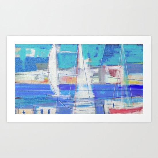 SAILS 1248  Art Print