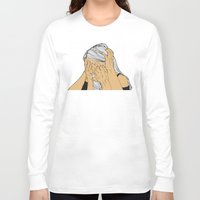 introvert Long Sleeve T-shirts featuring Introvert 9 by Heidi Banford