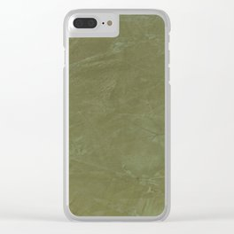 Italian Style Tuscan Olive Green Stucco - Luxury - Comforter - Bedding - Throw Pillows - Rugs Clear iPhone Case