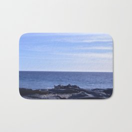sea rocks. Bath Mat