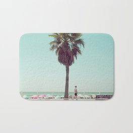 Just Another Summer Postcard Bath Mat